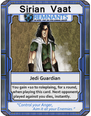 Remnants of Hope Trading Card