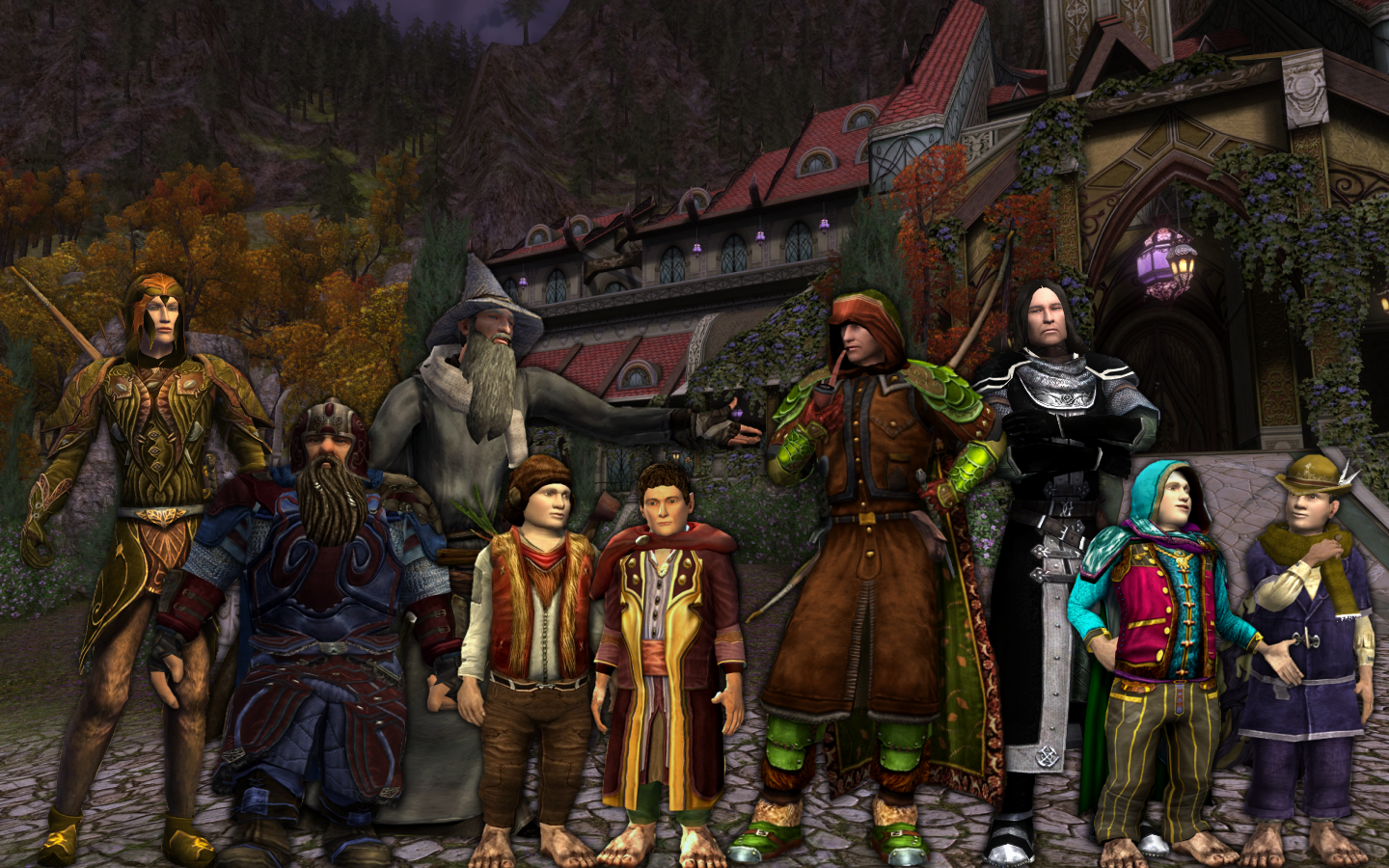 The Fellowship sets out! Leveling 1-20!