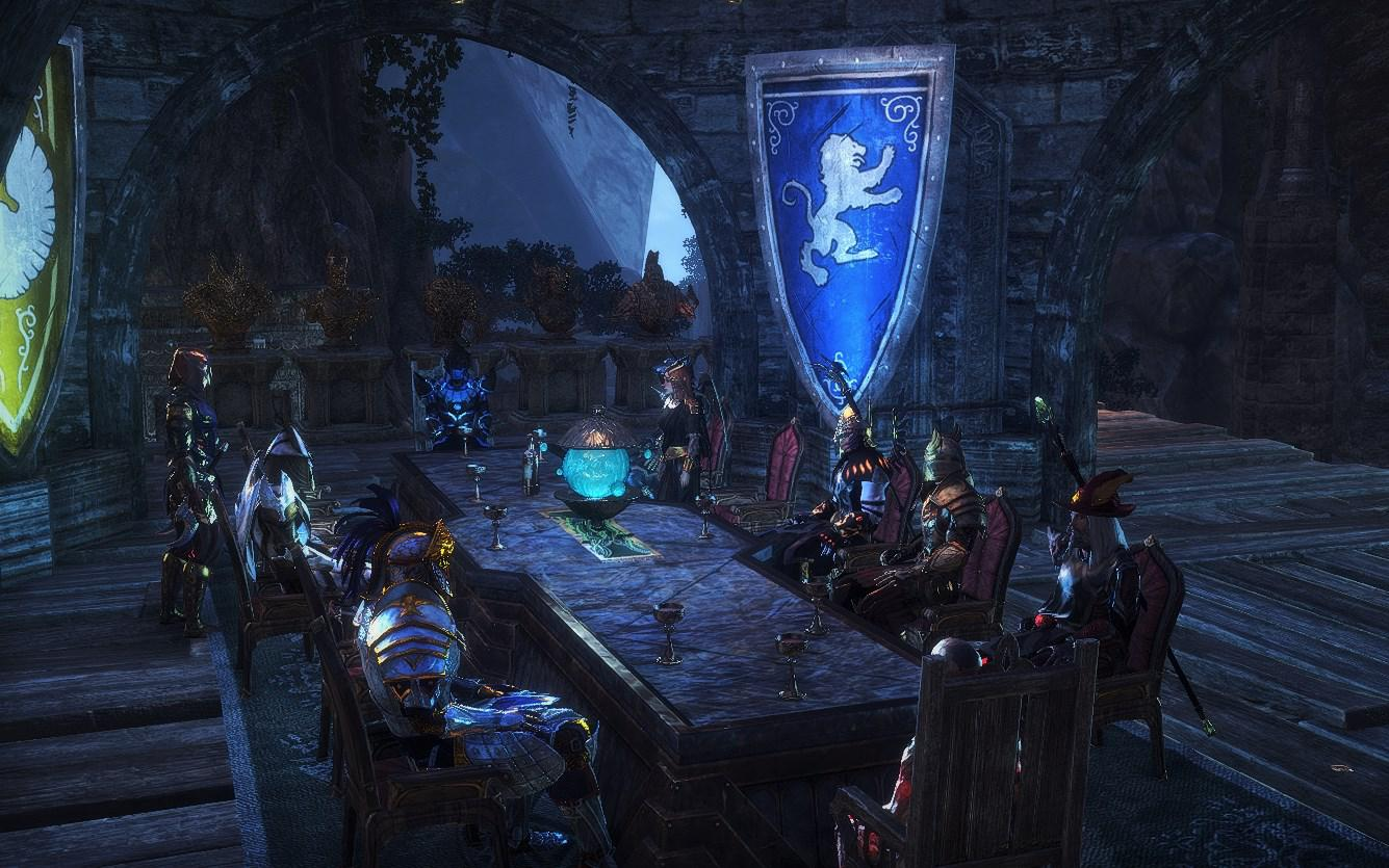 Trade Guild Meetings at my Place
